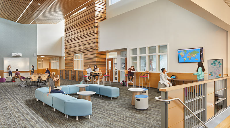 Variety And Versatility Were Key Factors When Selecting Furniture For  Rentonu0027s Vera Risdon Middle School. The Combination Of Moveable Stools,  Benches, ...