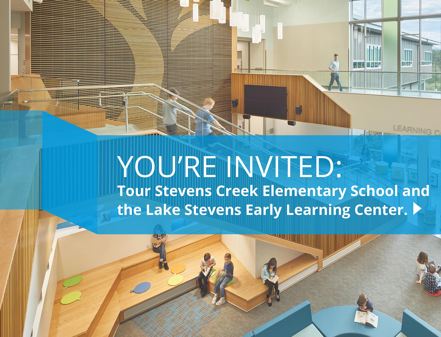 Stevens Creek Elementary School, You're invited: Tour Stevens Creek Elementary School and the Lake Stevens Early Learning Center, link to video tour