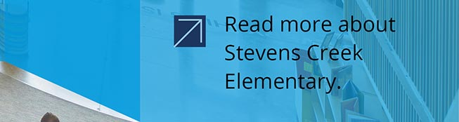 Stevens Creek Elementary School, link to Stevens Creek Elementary School project page