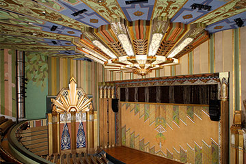 Martin Woldson Theater at the Fox interior, Link to Restoration / Preservation Projects